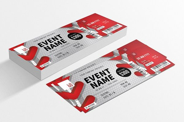 Creative Event Ticket Design | Designs.net