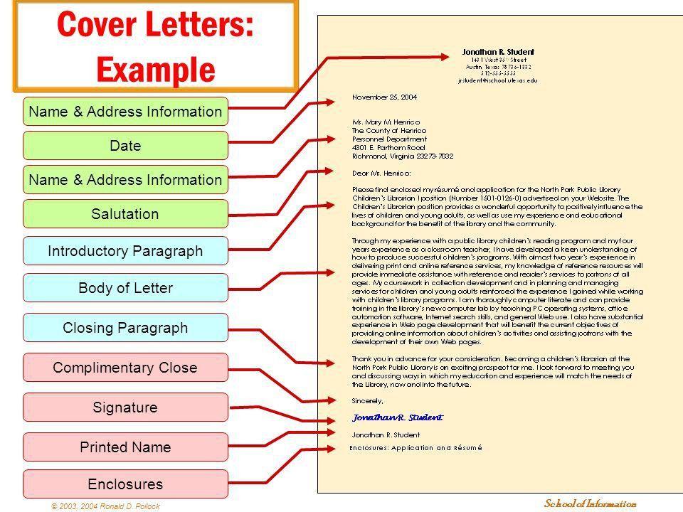 Résumés and Cover Letters Plus other Important Stuff - ppt download
