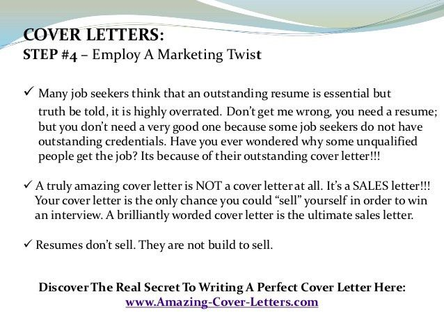 Cover letter for doctors