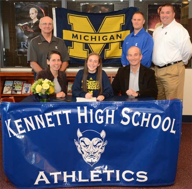 National Letter of Intent signing: Kennett's duPhily chooses ...
