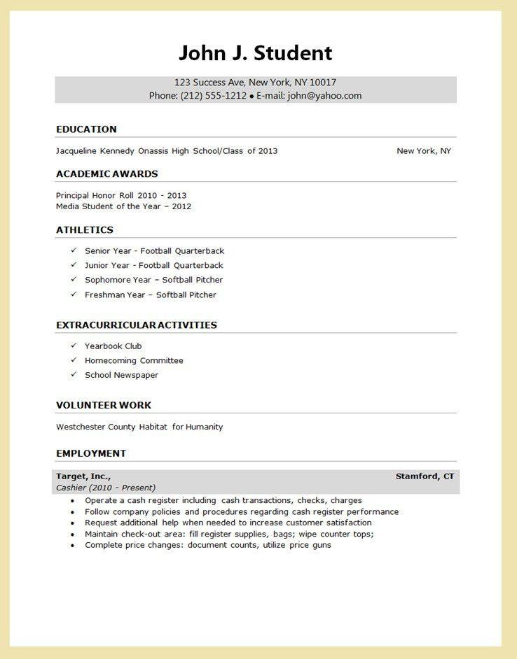 resume builder for freshers sample customer service resume ...