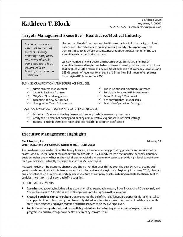 sample resume business business resume example business