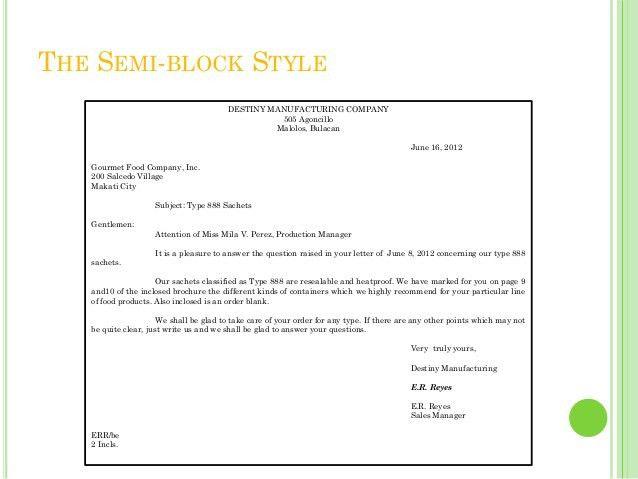 Semi Block Application Letter Meaning - Mediafoxstudio.com