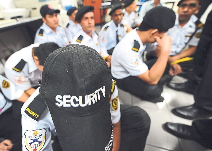 Security companies warned to be vigilant in recruitment of ...