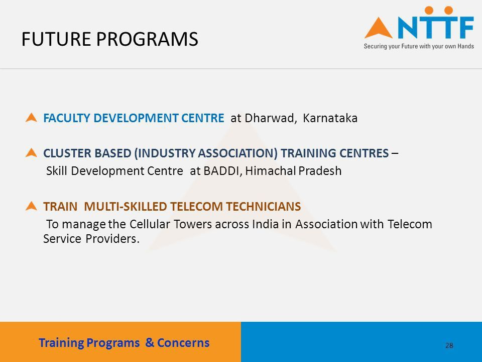 NTTF as a Partner for National Skill Building Discussion with : Mr ...