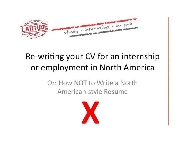 Cv vs Resume & How to Write a Good Resume