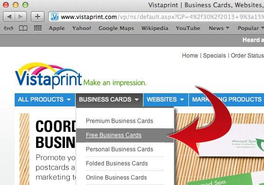 How to Make Business Cards with Vista Print: 5 Steps