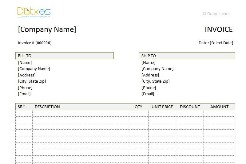 Pay Invoice Template - Template Examples