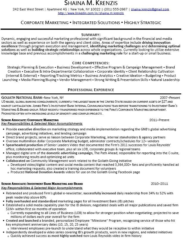 sample resume banking senior business analyst resume summary ...