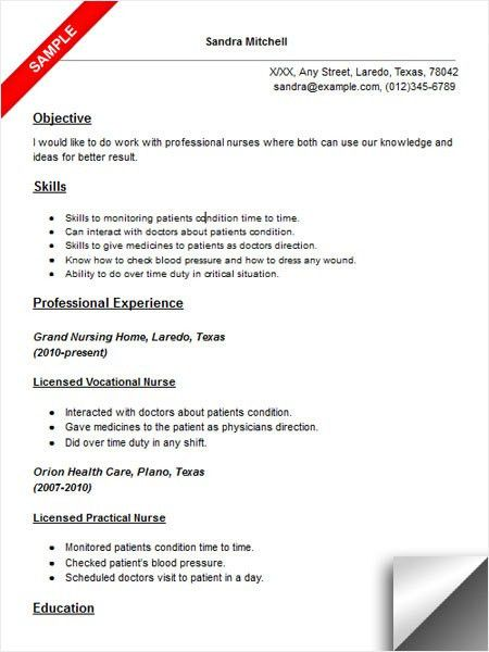 Lofty Idea Lvn Resume 14 Lpn Nursing Student Resume Resume Sample ...