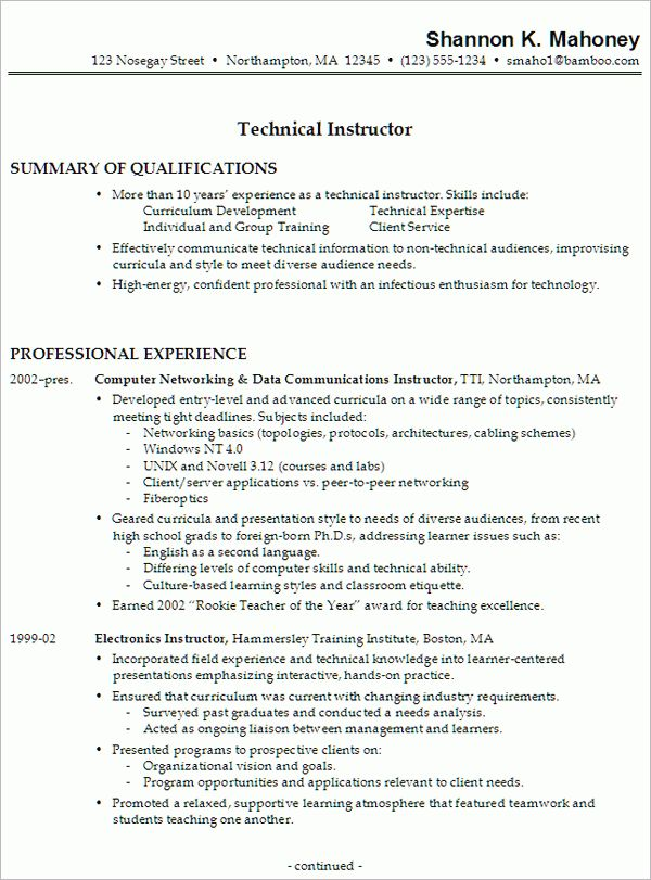 entry level automotive technician resume mechanic resume template ...