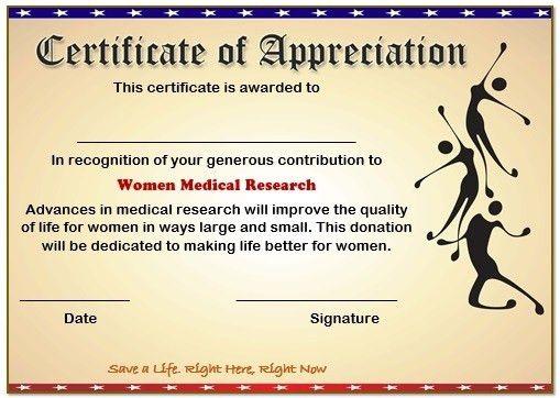 10 Elegant Certificate of Appreciation for Donation Templates ...