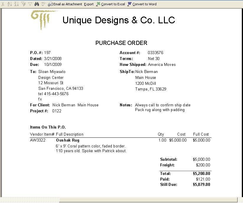 Interior Design Software Build Items