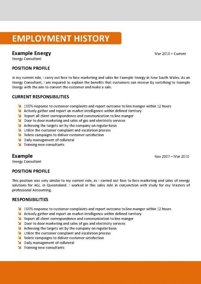 Resume Template Australia 2017 | | thehawaiianportal.com