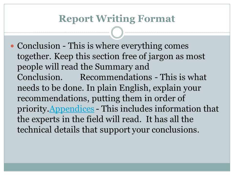 Report Writing Format If you have been asked to write a report ...