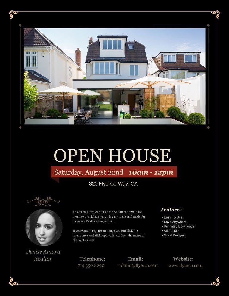 Open House Flyers - Real Estate Marketing Blog