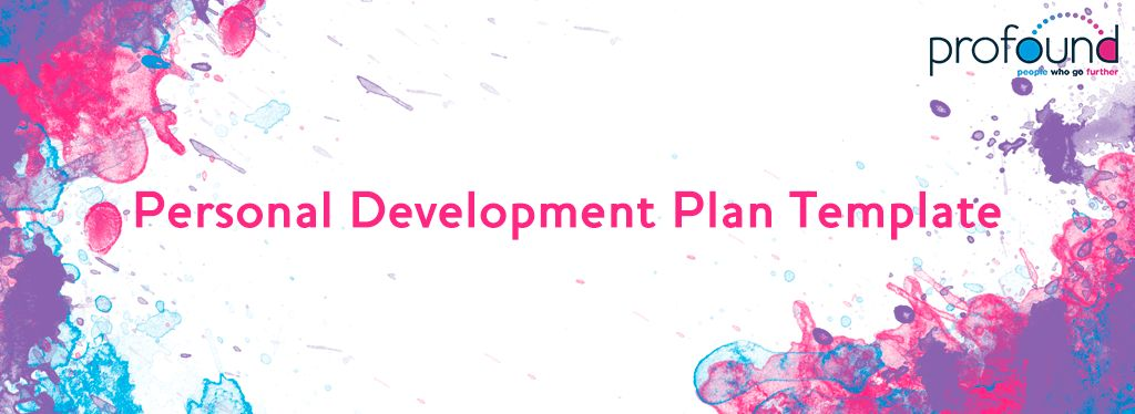 Personal Development Plan Template | Profound Services