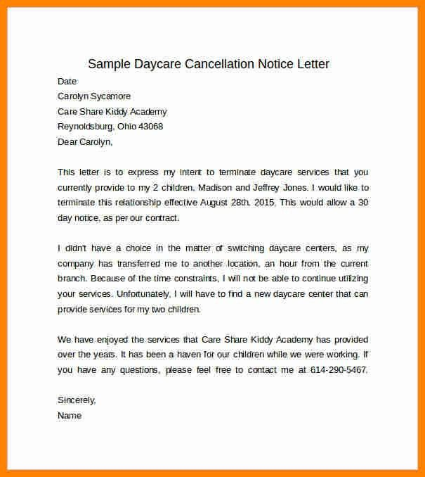 30 Day Notice Letter. 30 Day Notice Lease Termination Letter ...
