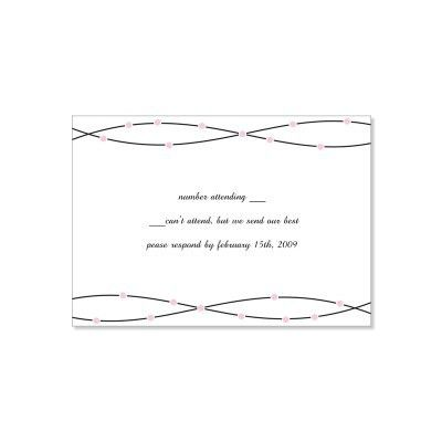 Wedding Invitations With Rsvp Cards Template | Best Template ...