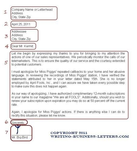Formal Business Letter Example. Formal Letters Latex Templates ...