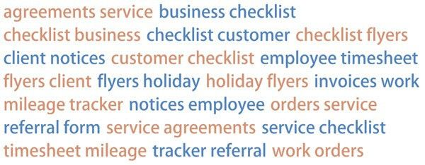 cleaning business forms