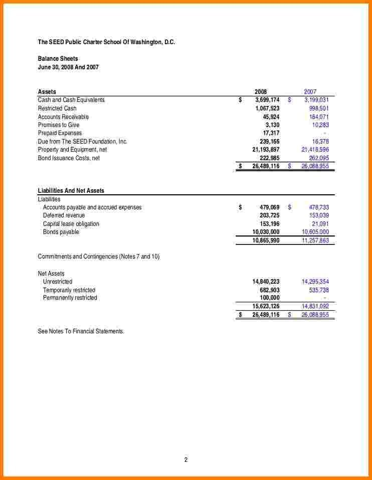 Sample Financial Reports. Treasurer Report Template   10+ Free .