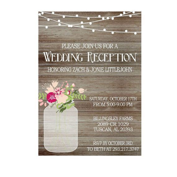 Best 25+ Reception only invitations ideas on Pinterest | Reception ...