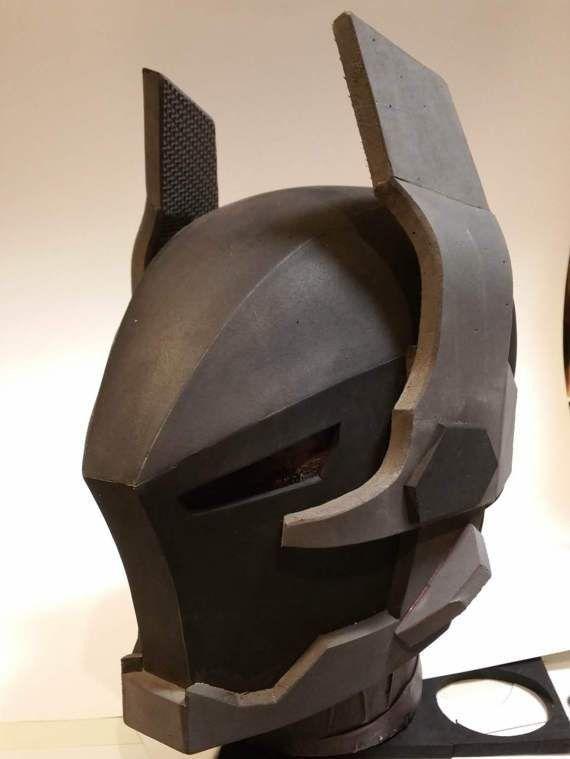Ark.ham Knight Foam Helmet template
