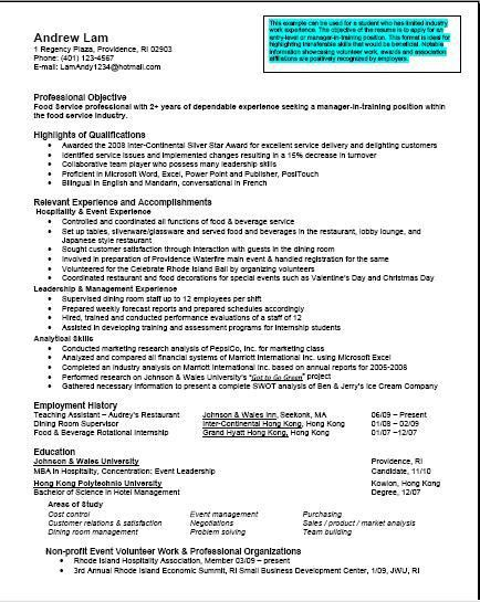 mba professional resumes