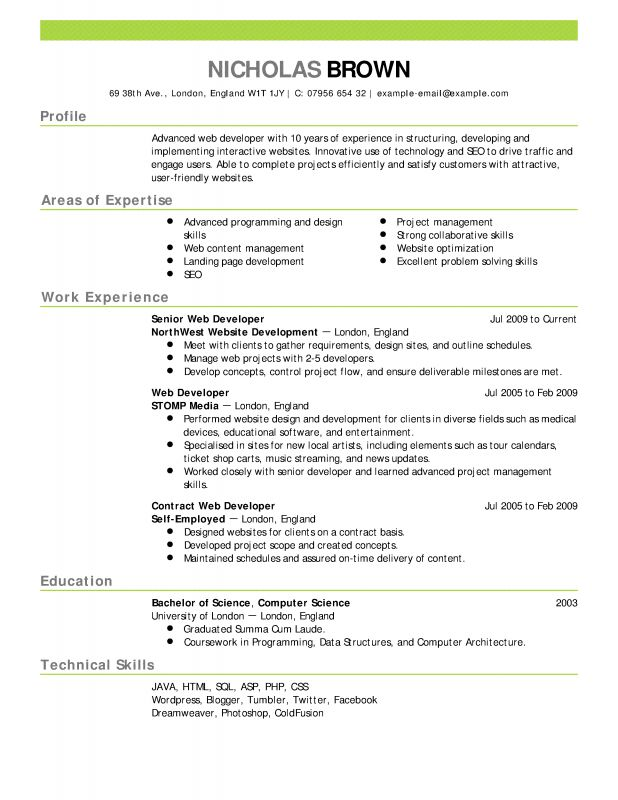 cover letter show example of resume show me an example of a ...