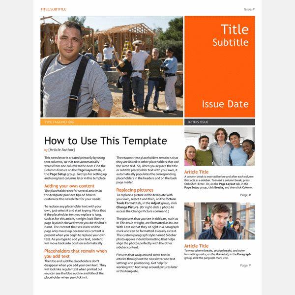 40+Newsletter Templates | Free & Premium Templates
