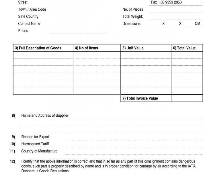 Printable Blank Invoice Template, printable invoices. custom-blank ...