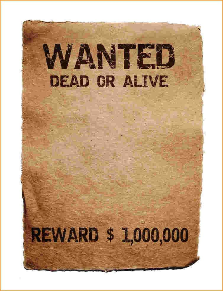 Wanted Poster Template Publisher - Ecordura.com