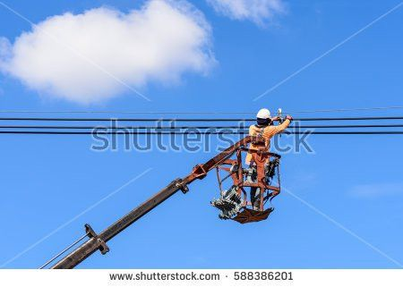 Utility Lineman Stock Images, Royalty-Free Images & Vectors ...