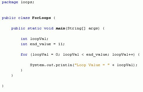 Java For Complete Beginners - for loops