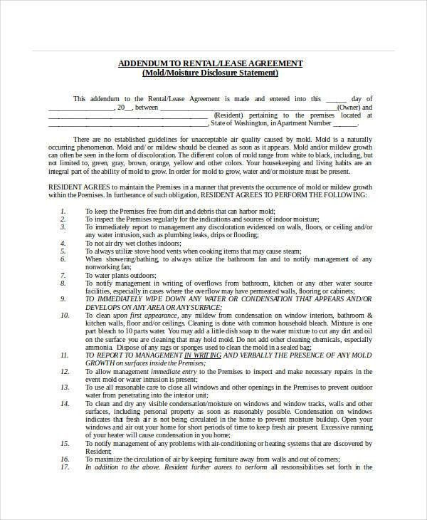 24 Lease Agreement Forms in Doc