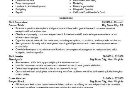 create resume customize resume. resume cleaning supervisor sample ...