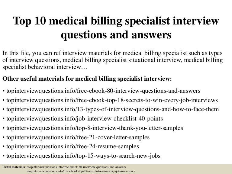 sample cover letter for a medical biller. medical clerk sample ...