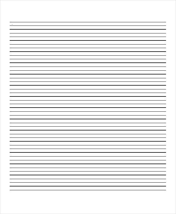 Lined Paper - 10+ Free Word, PDF, PSD Documents Download | Free ...