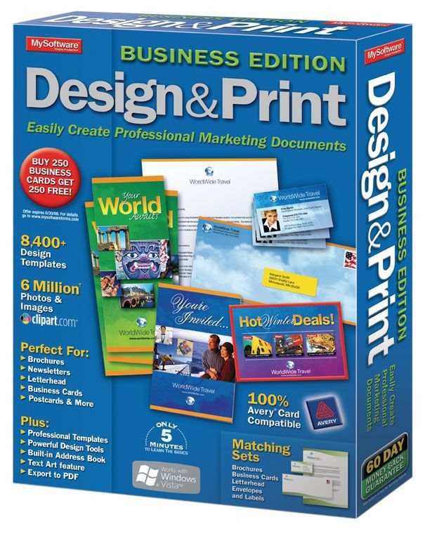 Design Print Business Edition Traditional Disc by Office Depot ...