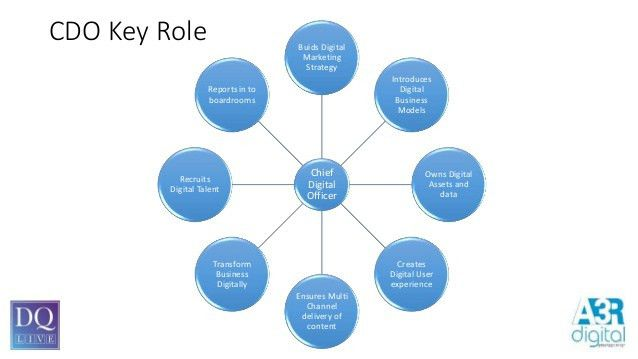 The role of chief digital officer