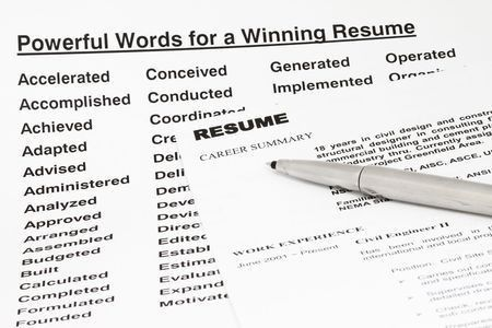 active verbs resume resume active verbs resume writing power words ...