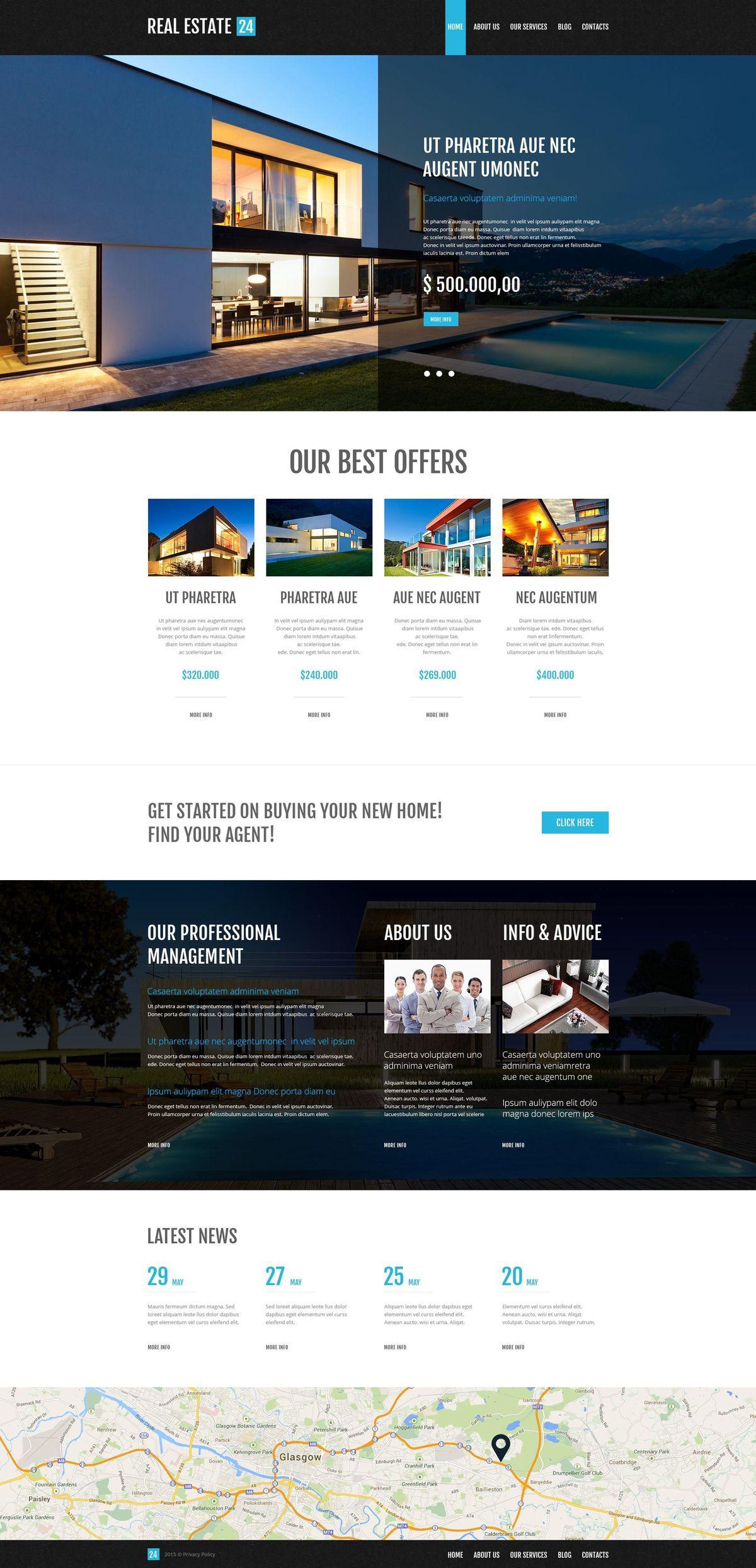 Wordpress Real Estate Themes | TemplateMonster