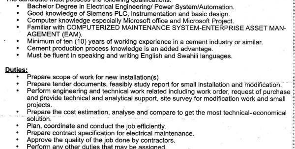 Senior Applications Engineer Job Description Applications Engineer ...