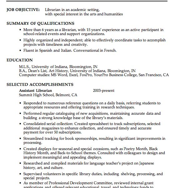 Peachy Design Ideas Academic Resume Examples 3 Chronological ...