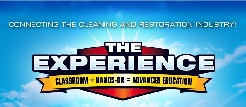 THE EXPERIENCE Cleaning & Restoration Conventions & Trade Shows ...