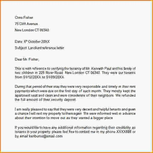 Landlord Reference Form.tenant Reference Letter Template Uk 19.png ...