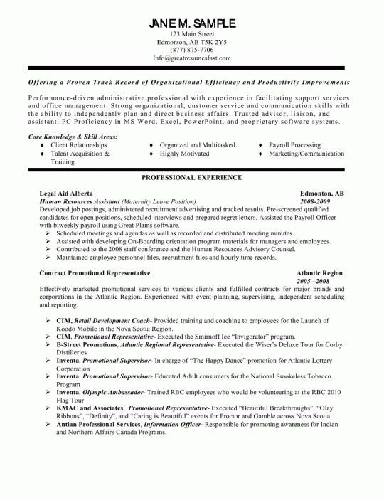 The Amazing Personal Assistant Resume Objective | Resume Format Web