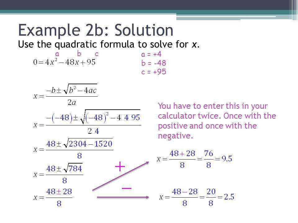 Applications of Quadratic Equations - ppt video online download