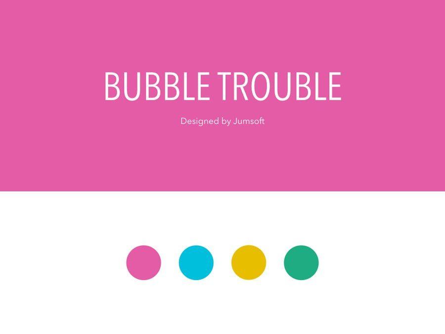 Bubble Trouble Google Slides Template by Jumsoft   GraphicRiver